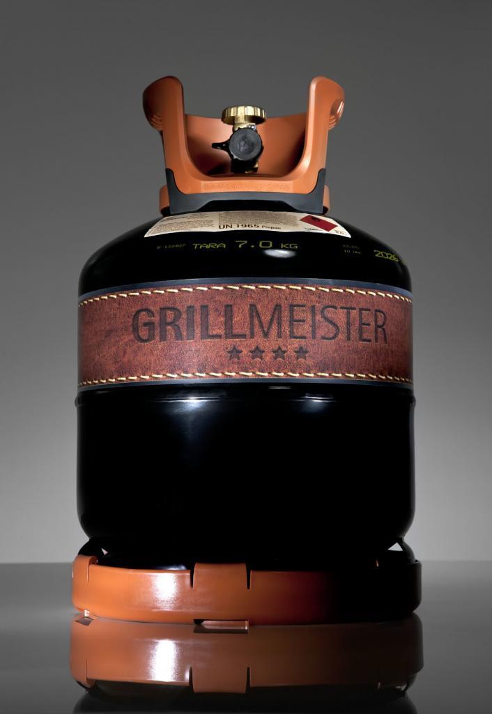 Grillmeister Grillgasflasche