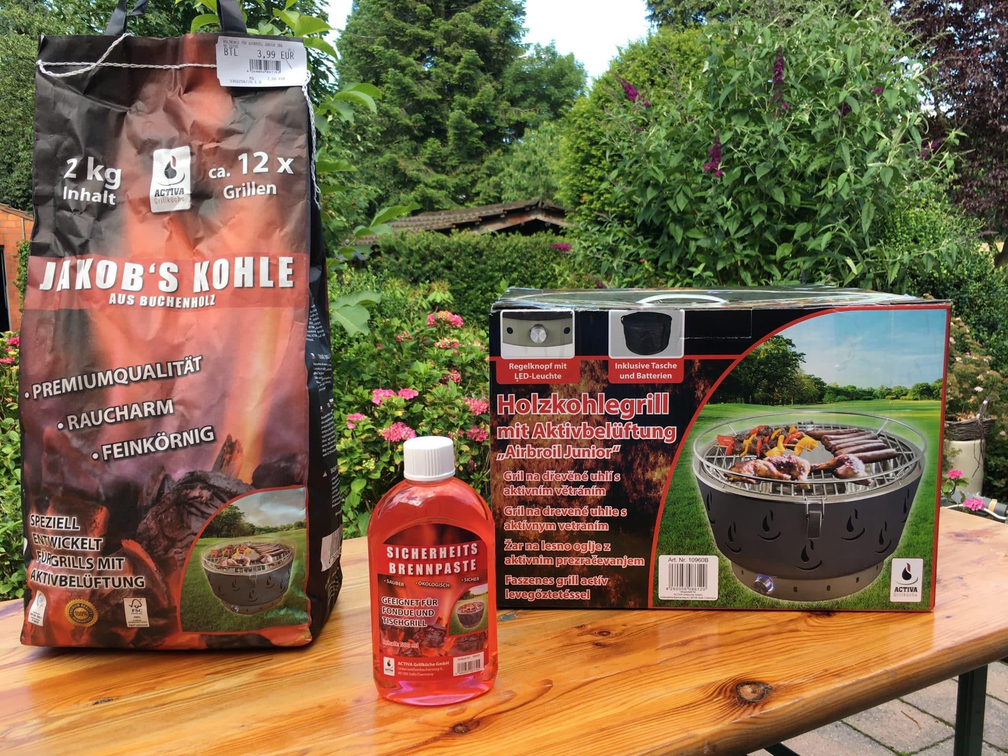 Activa Holzkohlegrill Mit Aktivbelüftung : Holzkohlegrill mit aktivbelüftung hopmann garten und freizeitmarkt
